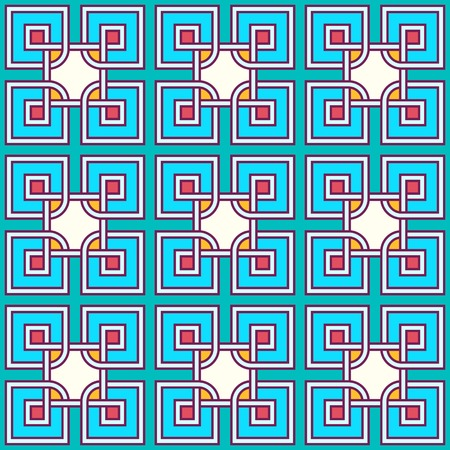 tangled: Tangled modern pattern, based on traditional oriental patterns Illustration