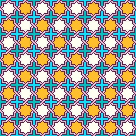 glaze: Tangled modern pattern, based on traditional oriental patterns Illustration