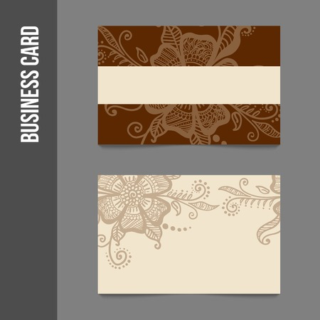 business cards: Corporate identity - business cards for company or event. Business stationery - vector template for print or web.
