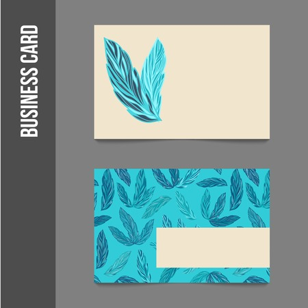 business event: Corporate identity - business cards for company or event. Business stationery - vector template for print or web.