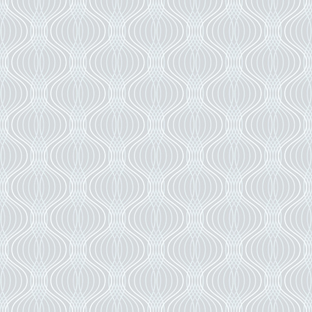 Abstract geometric ogee pattern. Seamless background. Vector