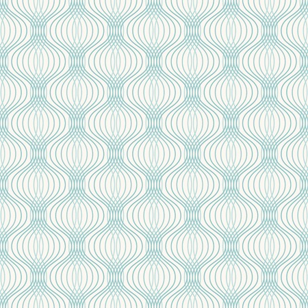 Abstract geometric ogee pattern. Seamless vector background.