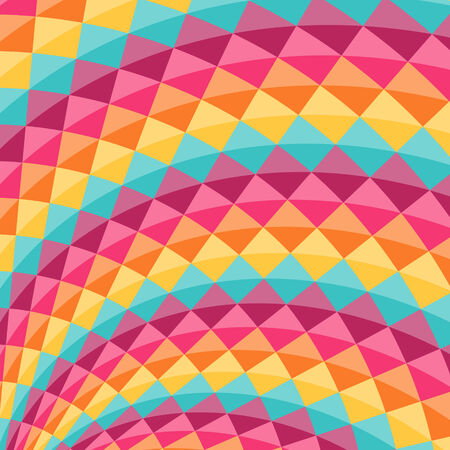 diamond shaped: Geometric pattern with diamond shaped figures. Perfect for party desing. Colorful abstract vector background
