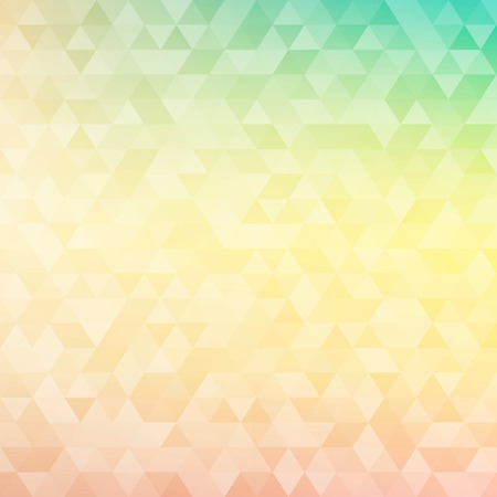 triangular banner: Colorful abstract geometric background with triangular polygons - low poly. Vector illustration.