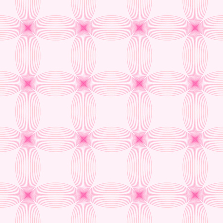 tangled: Design elements - tangled colorful waves pattern. Seamless background with thin pink lines. Vector illustration.