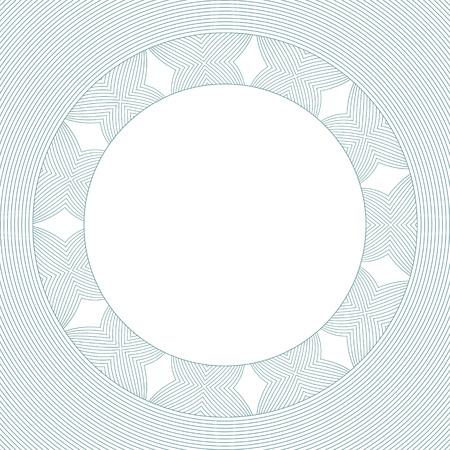 background vintage: Design elements - geometric line frame. Vector illustration. Illustration