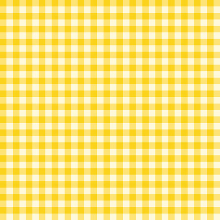 gingham pattern: Traditional Gingham pattern in yellow color. Seamless checkered vector pattern. Abstract geometric background.