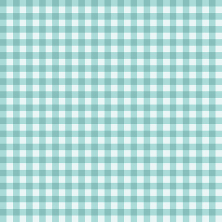 gingham pattern: Traditional Gingham pattern in teal color. Seamless checkered vector pattern. Abstract geometric background.