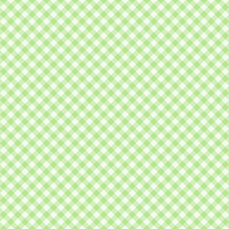 Traditional Gingham pattern in light green color. Seamless checkered vector pattern. Abstract geometric background. Illustration