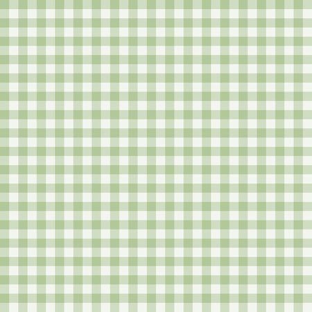 gingham pattern: Traditional Gingham pattern in  green color. Seamless checkered vector pattern. Abstract geometric background.
