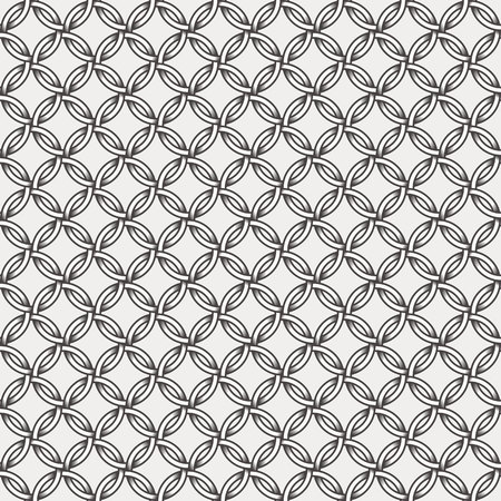 diamond shaped: Abstract geometric retro pattern, lines, circles and diamond shaped stars.  Seamless vector background. Plain colors - easy to recolor.