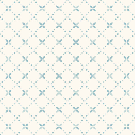 Drizzled particles - dots pattern. Tender pattern with small dots and circles - suitable for web background and print. Seamless vector background. Vectores