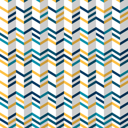 chevron pattern: Fashion zigzag pattern in yellow and colors. Seamless chevron pattern. Vector background
