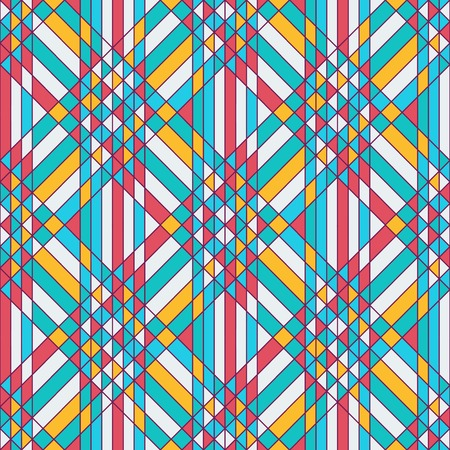 tessellation: Abstract geometric seamless background - triangles tessellation. Vector illustration.