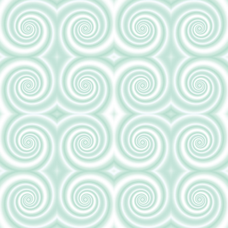 opt: Abstract geometric tile with swirls. Seamless background. Vector illustration.