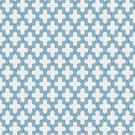 entwined: Entwined modern pattern, based on traditional oriental arabic patterns. Seamless vector background. Easy to recolor. Arabesque geometric pattern. Traditional Islam pattern.