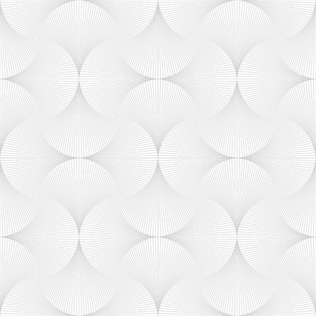 opt: Abstract background with geometric line shapes in Opt Art style. Vector illustration. Seamless white and gray background.