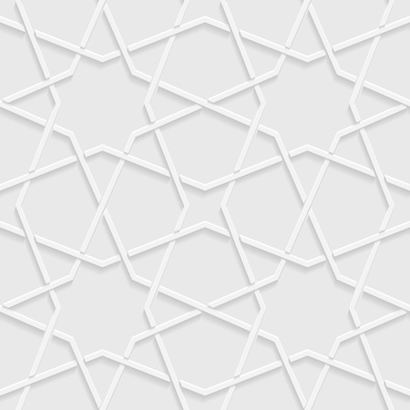 opt: Abstract background with geometric shapes. Vector illustration. Seamless white and gray background, light and shadows.