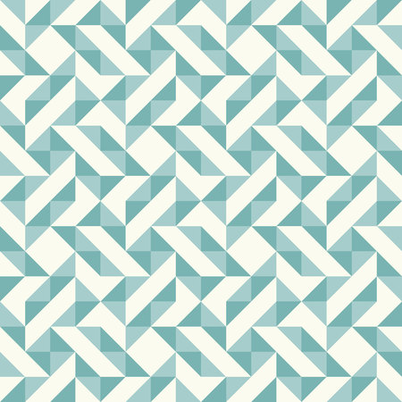 Regular geometric pattern inspired by traditional patchwork duvet quilting. Illustration