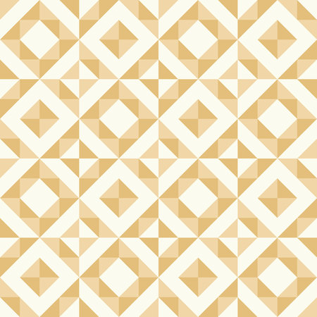 Regular geometric pattern inspired by traditional patchwork duvet quilting.  Pastel retro colors. Illustration