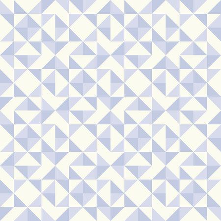 Regular geometric pattern.