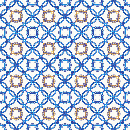 Tangled modern pattern, based on traditional oriental arabic patterns
