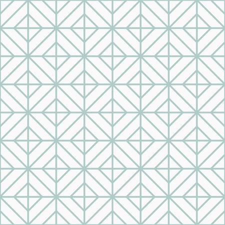 Simple floor tile pattern, abstract geometric seamless background. Portuguese tiles vector illustration. Illustration