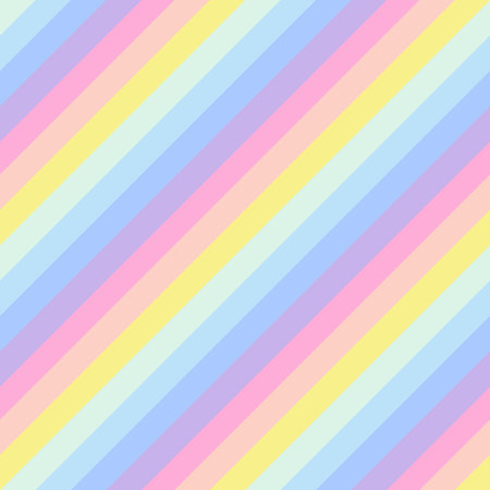 Geometric striped background, pastel rainbow spectrum colors. LGBTQ colors. Abstract geometric striped seamless pattern, rainbow stripes. Vector illustration. Colorful wave, wavy LGBT flag. Ilustrace
