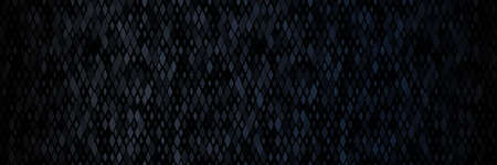 Dark black background abstract geometric pattern. Dark mode concept. Perfect for web banners and background. Vector illustration. 矢量图像