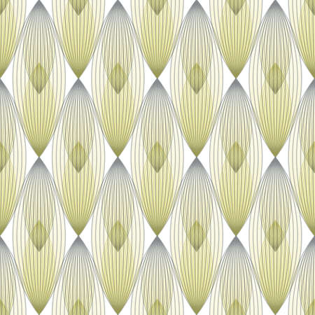 Abstract geometric pattern with multiple lines, yellow and grey colors. Seamless vector background for fabric, wallpapers, digital paper, web background.