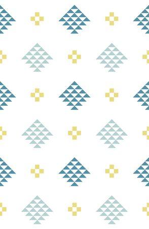 Scandinavian style seamless pattern  イラスト・ベクター素材