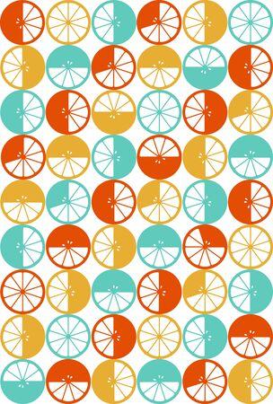 citron seamless pattern