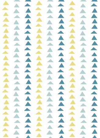 Scandinavian style seamless pattern (blue)  イラスト・ベクター素材