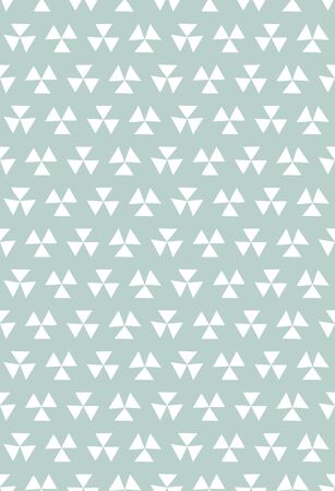 Scandinavian style seamless pattern (ice blue)