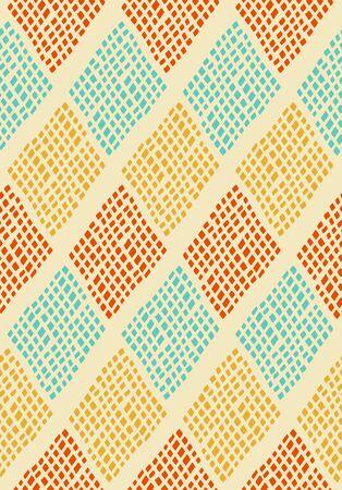 Scandinavian style seamless pattern Illustration