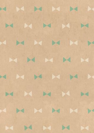 Kraft paper style background material