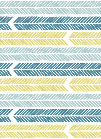 Scandinavian style seamless pattern Ilustração