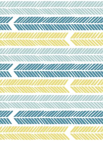 Scandinavian style seamless pattern Illustration