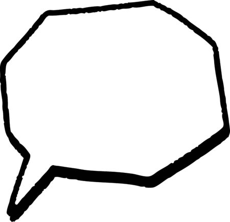 speech balloon material