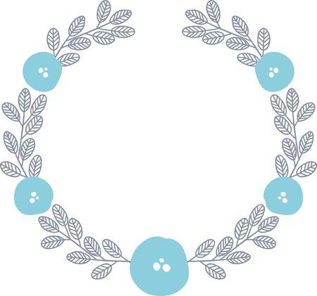 flower ring Illusztráció