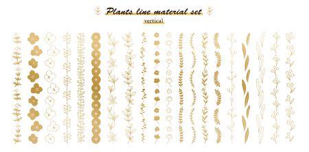 plant line set@vertical