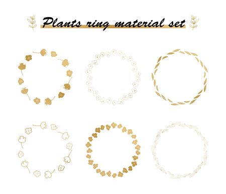 plant material set(ring)