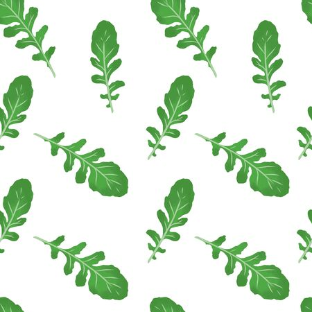 baby leaf  seamless pattern Illusztráció