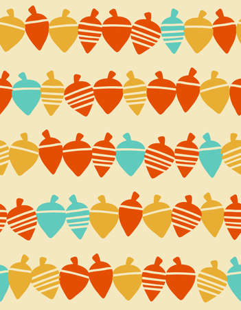 Scandinavian style seamless pattern Illusztráció