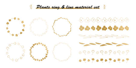 plant ring & line material set