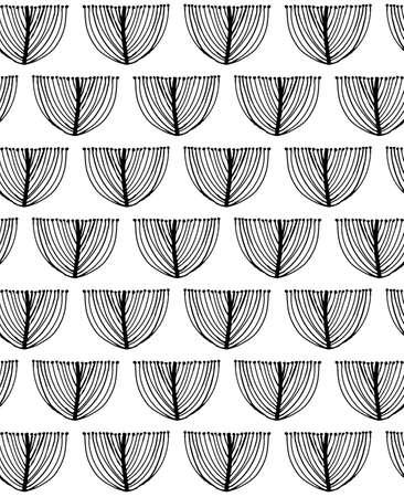 Scandinavian style seamless pattern Иллюстрация