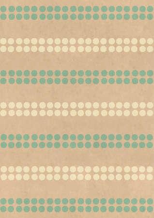 Kraft paper background material