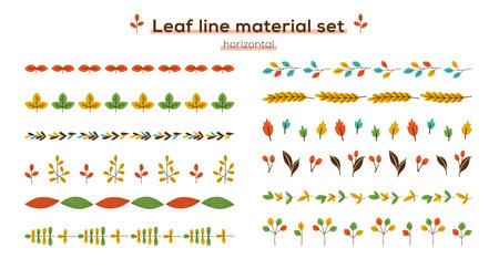 leaf line material set