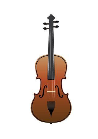 violin illustration background Stock Vector - 13436129