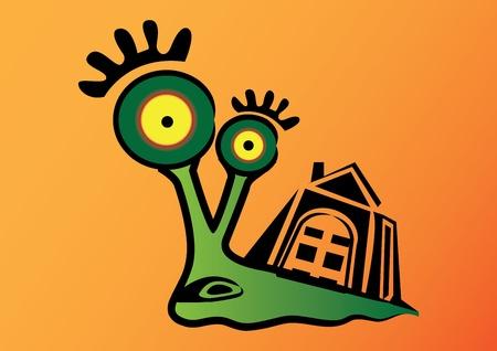 Illustration Cute cartoon monster Stock Vector - 13436140